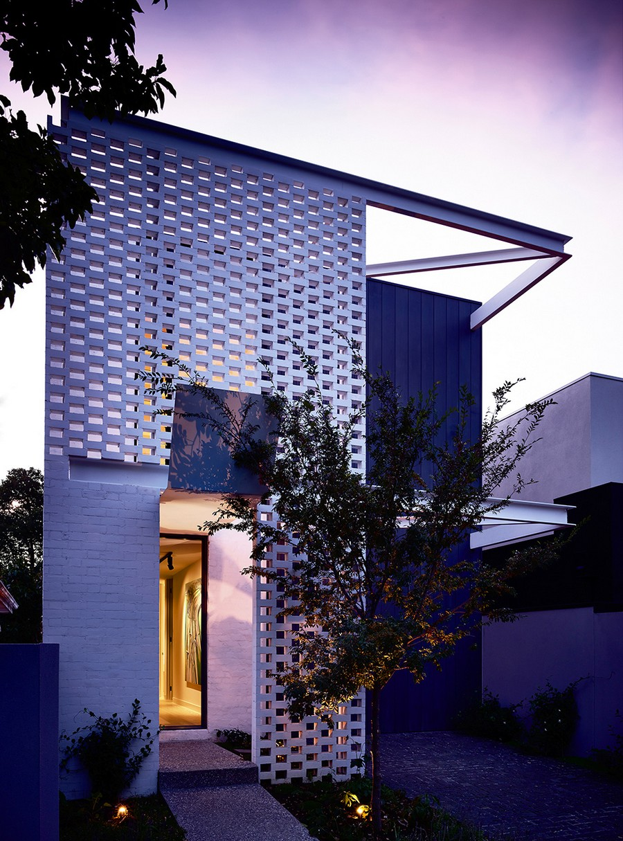 Pequeña casa adaptada al estilo moderno que aplica un intenso diseño oculto en Melbourne, Australia