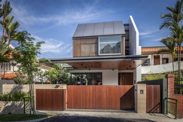 Moderna casa muy grande