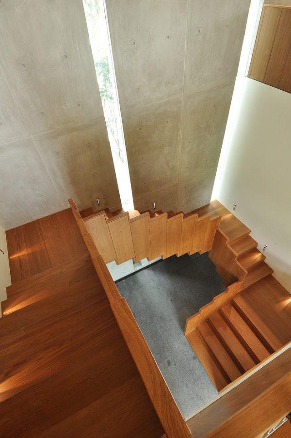 escaleras volando