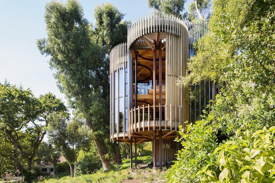 Casa de árbol muy bonita de 3 plantas en la ciudad del cabo ideal para tener privacidad