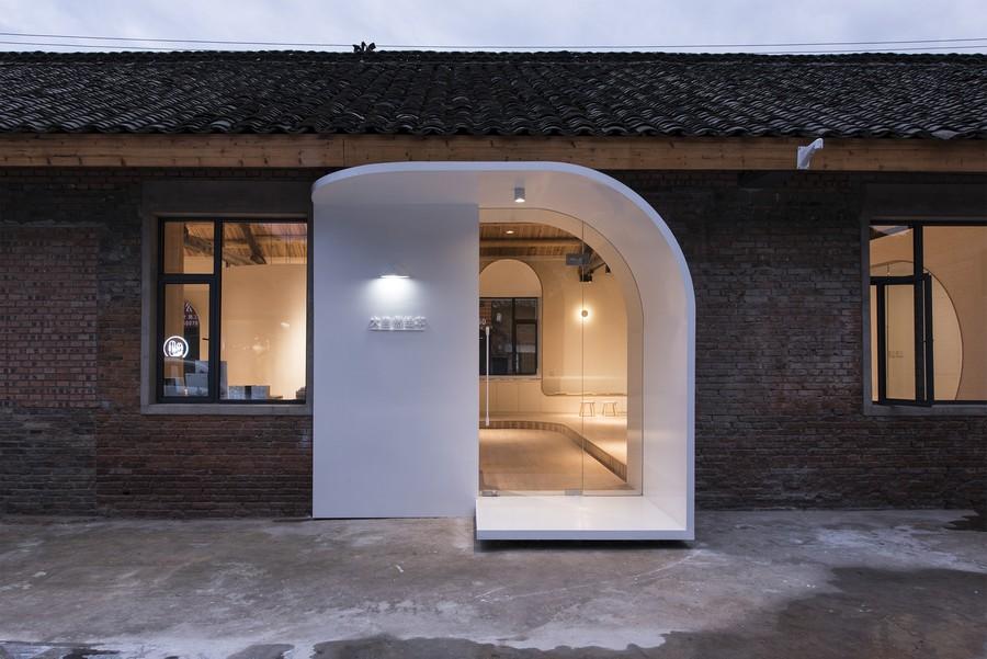 China rehabilita una antigua planta de impresión y la convierten en un hogar muy interesante