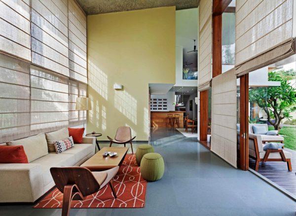 Moderna casa y alta