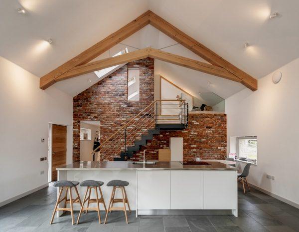 Escaleras con un diseño moderno