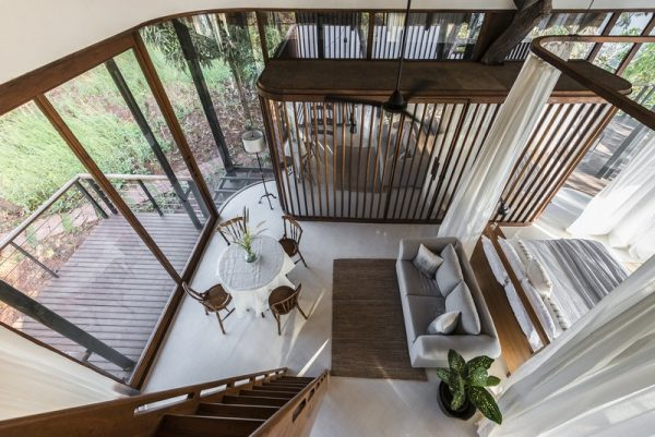 Un segundo piso muy moderno