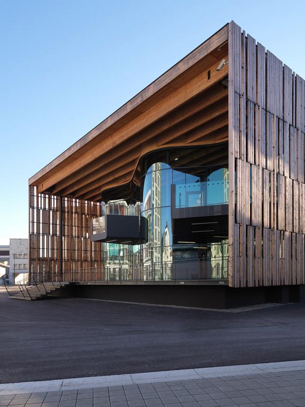 Templo dedicado a la música electrónica en Grenoble Francia con un diseño increíble y magnifico