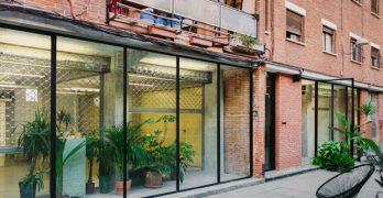 Twin Twin en Madrid, una arquitectura digna de un diseño low-cost