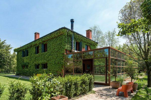 Diseño verde y moderno