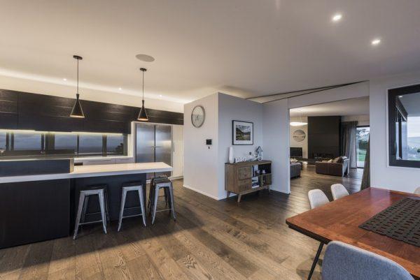Una cocina amplia y abierta