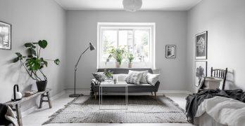 Increíblemente planeado apartamento de una habitación en Estocolmo que te deja con la boca abierta