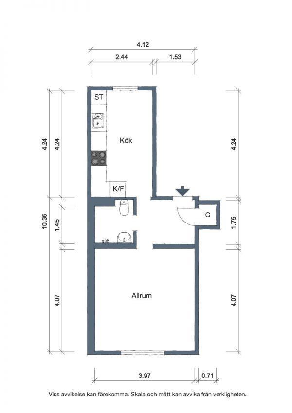 Plano de la casa
