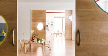 Un nuevo diseño en un preescolar en Brooklyn estimula el juego y la curiosidad