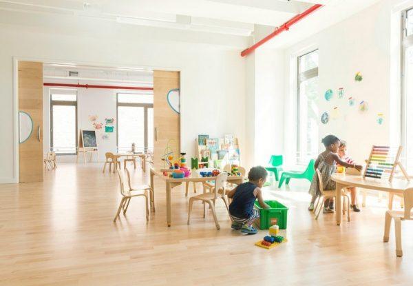 Moderno lugar para jugar y aprender