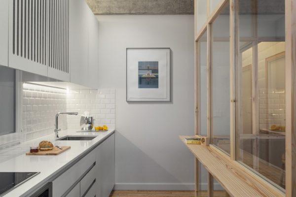 Diseño moderno de la cocina