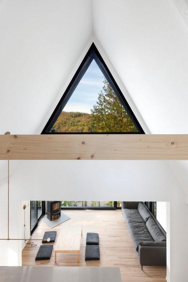Ventanas triangulares