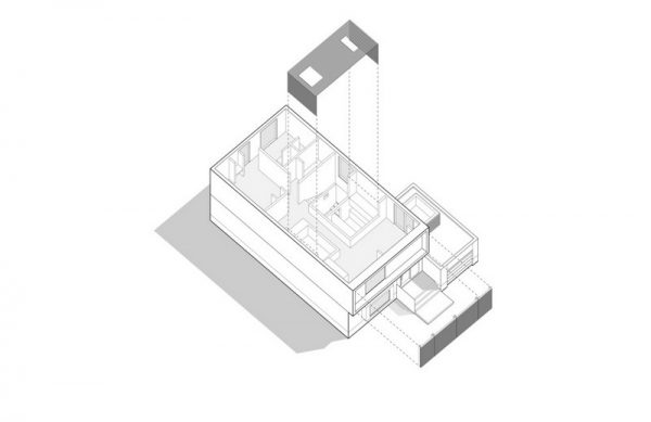 Segundo plano de la casa