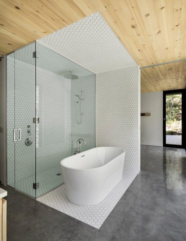 Hermoso baño moderno