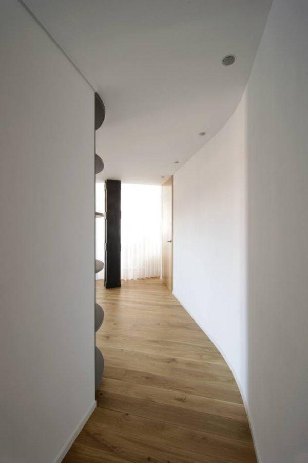 Diseño de pasillos único