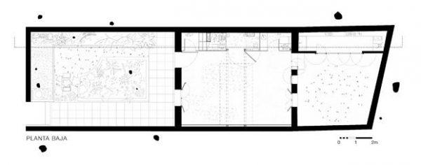 Cuarto plano de la casa