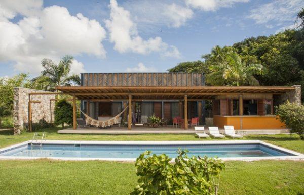 Una bonita casa de vacaciones