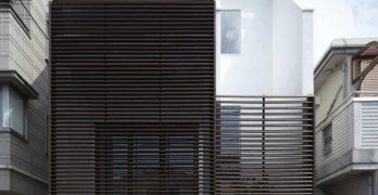 Casa IS en Japón: Maximización del espacio a través de un diseño más original