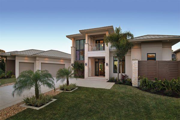 Hermoso diseño de casa bonita