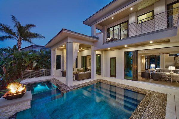 Una casa muy lujosa