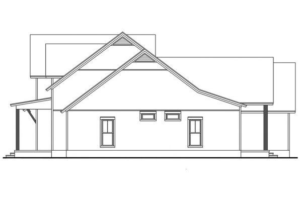 Diseño lateral de la casa