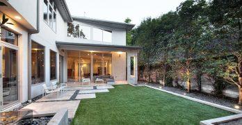 Planos de vivienda moderna y lujosa de 421 metros cuadrados
