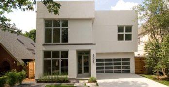 Casa de dos plantas con una extensión de 338 metros cuadrados