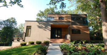 Casa moderna de 236 metros cuadrados con jardín exterior