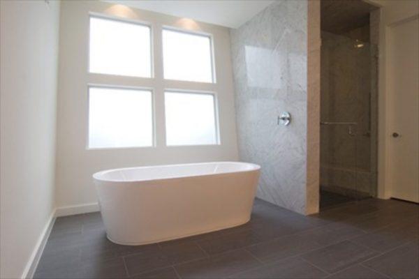 Una bañera muy cómoda e ideal