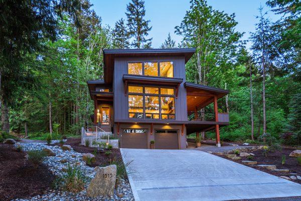 Diseño en el bosque muy bonito