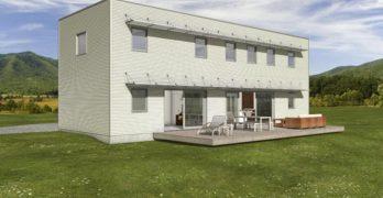 Planos de casa moderna de 204 metros cuadrados