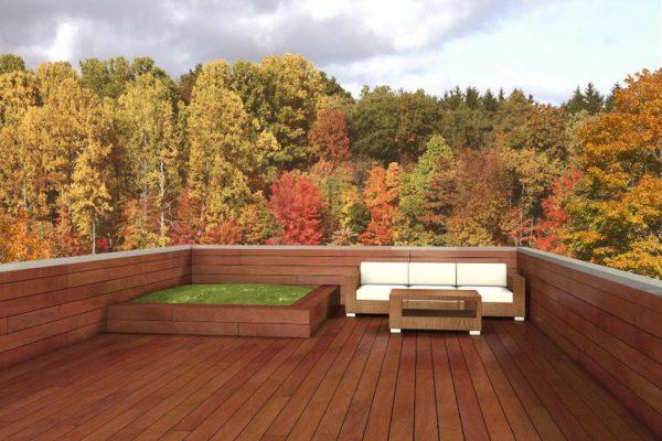 Espacio para la terraza