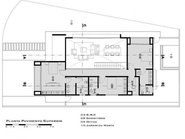 hermosos planos de planta abiertos Casa Moderna Con Entrada Imponente Y Jardn Abierto Planos